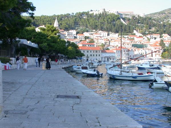 Hafenpromenade Kroatien
