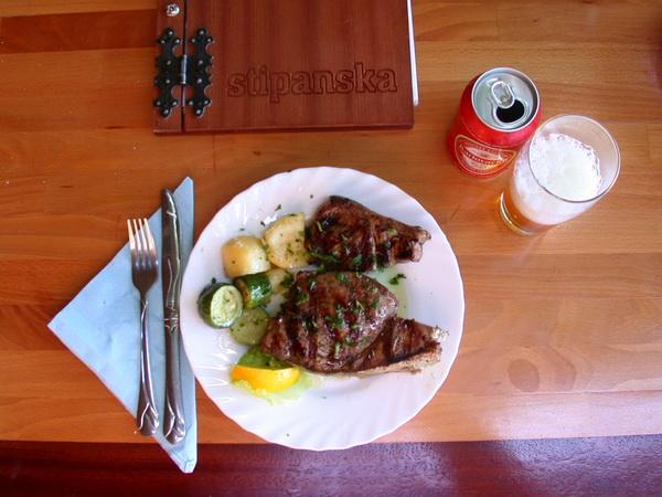 Lecker Thunfisch vom Grill