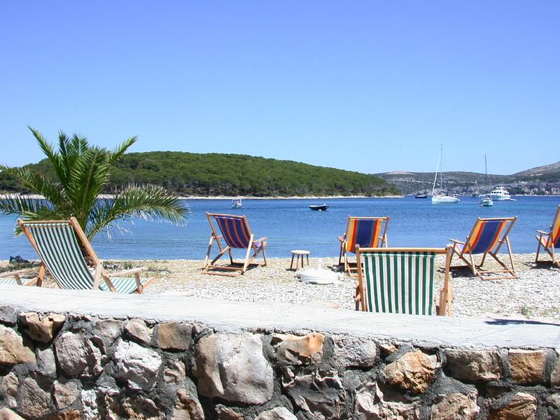 Strand in Dalmatien